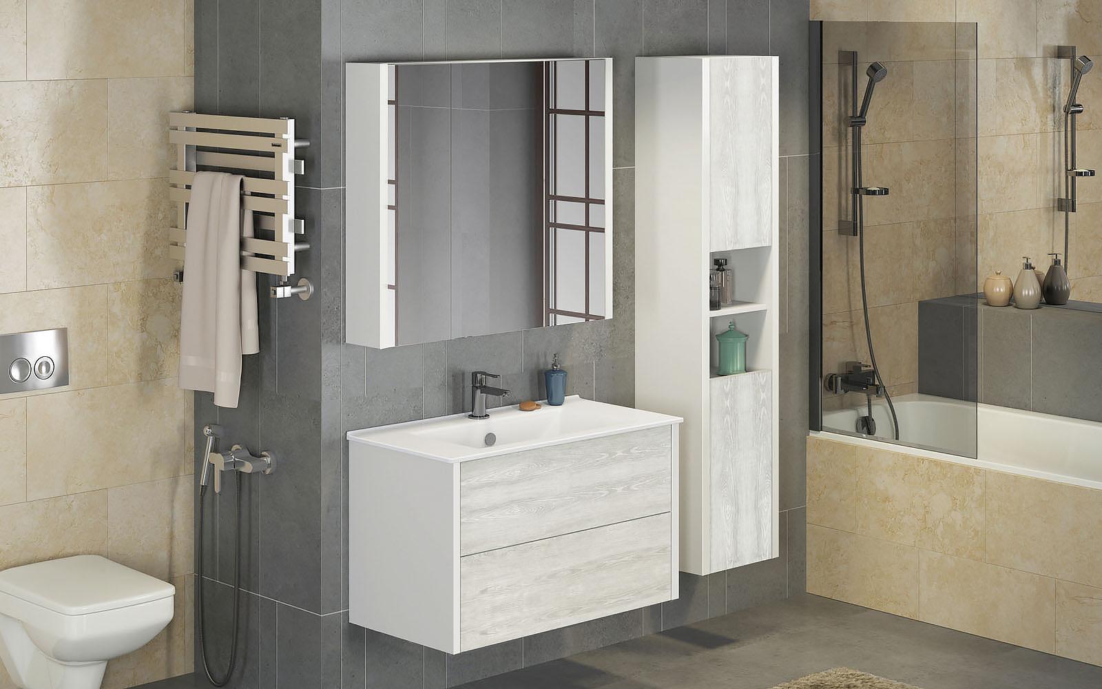 Как подобрать мебель для ванной комнаты ?